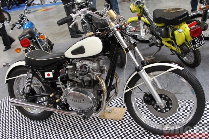 yamaha xs 650 custom par ka ball