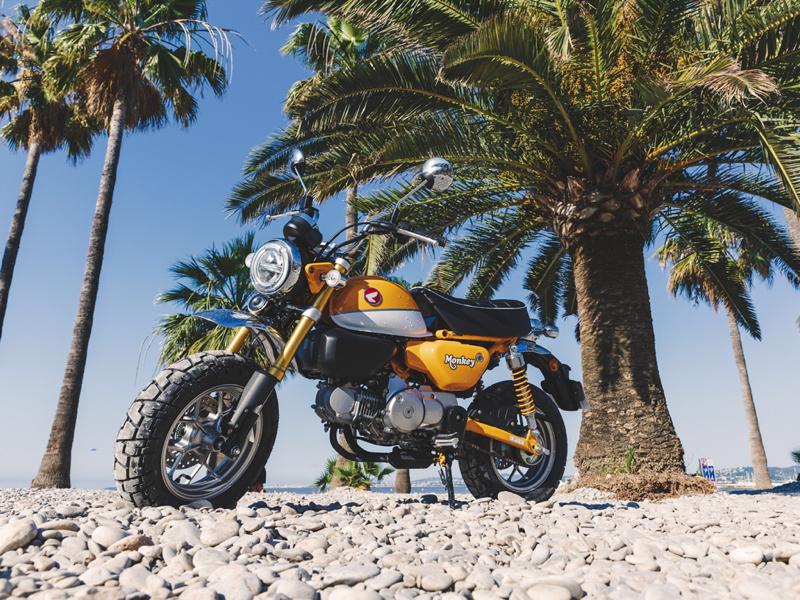 Essai Honda Monkey 125 modèle 2018 par Jean-Michel Lainé