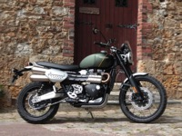 Photo 1 Essai Triumph Scrambler 1200 XC 2019