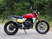 Photo 2 Essai Fantic Caballero 500 Scrambler 2019