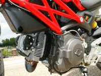 Photo 8 Essai Ducati Monster 696+ modèle 2008