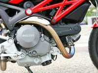 Photo 10 Essai Ducati Monster 696+ modèle 2008