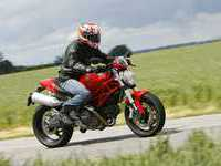 Photo 23 Essai Ducati Monster 696+ modèle 2008