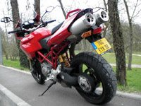 Photo 19 Essai Ducati Multistrada 1100 S 2007