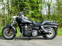 Photo 7 Essai Harley-Davidson Fat Bob 2008