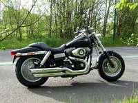 Photo 9 Essai Harley-Davidson Fat Bob 2008