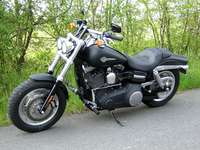 Photo 10 Essai Harley-Davidson Fat Bob 2008
