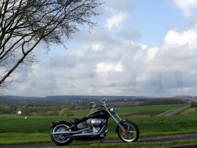 Essai Harley-Davidson Rocker modèle 2008 par Jean-Michel Lainé