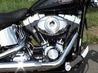 Photo 1 Essai Harley-Davidson Softail Custom 2007