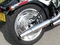 Photo 2 Essai Harley-Davidson Softail Custom 2007