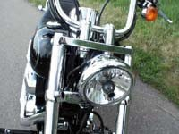 Photo 5 Essai Harley-Davidson Softail Custom 2007