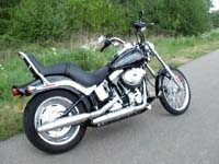 Photo 9 Essai Harley-Davidson Softail Custom 2007