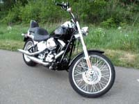 Photo 10 Essai Harley-Davidson Softail Custom 2007