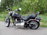 Photo 12 Essai Harley-Davidson Softail Custom 2007
