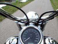 Photo 13 Essai Harley-Davidson Softail Custom 2007