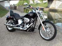 Photo 15 Essai Harley-Davidson Softail Custom 2007