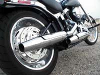 Photo 16 Essai Harley-Davidson Softail Custom 2007
