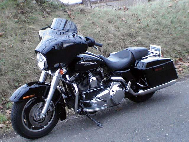 Essai Harley-Davidson Street Glide 2007 par Jean-Michel Lainé