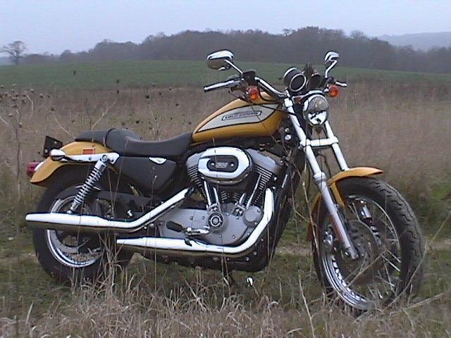 Essai Harley-Davidson Sportster 1200 R 2005 par Jean-Michel Lainé