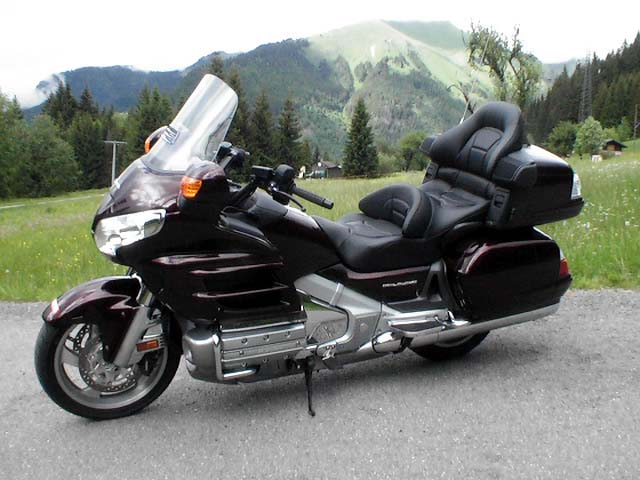 Essai Honda Goldwing 1800 2007 par Jean-Michel Lainé