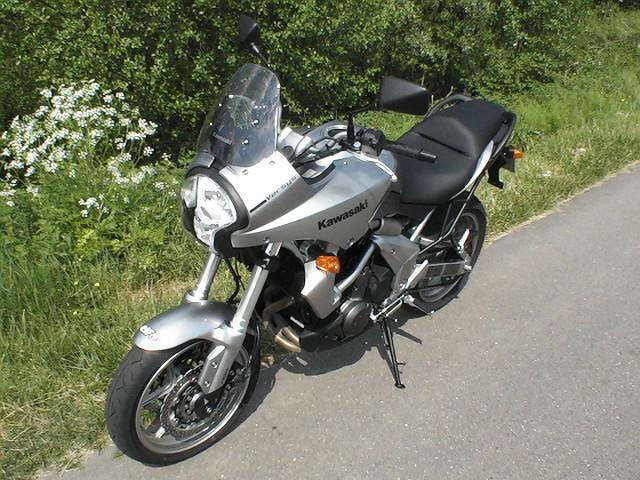 Essai Kawasaki Versys 650 2007 par Jean-Michel Lainé