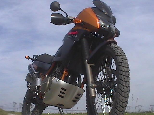 Essai Kawasaki KLE500 modèle 2005 par Jean-Michel Lainé