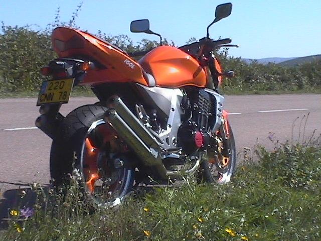 Essai Kawasaki Z1000 2003 par Jean-Michel Lainé