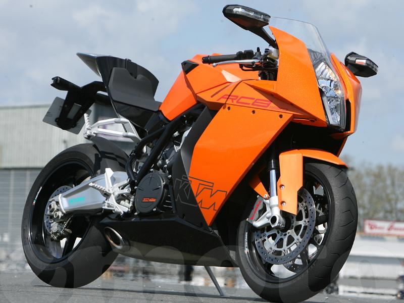 Essai KTM 1190 RC8 2008 par Guillaume Mongin