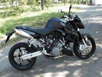 Photo 22 Essai KTM Super Duke 990 2007