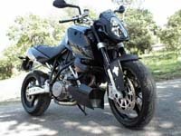 Photo 23 Essai KTM Super Duke 990 2007