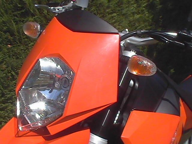 Essai KTM Supermoto 950 2005 par Jean-Michel Lainé