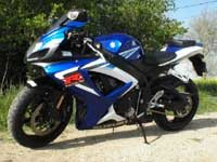 Photo 1 Essai Suzuki GSXR 750 2006
