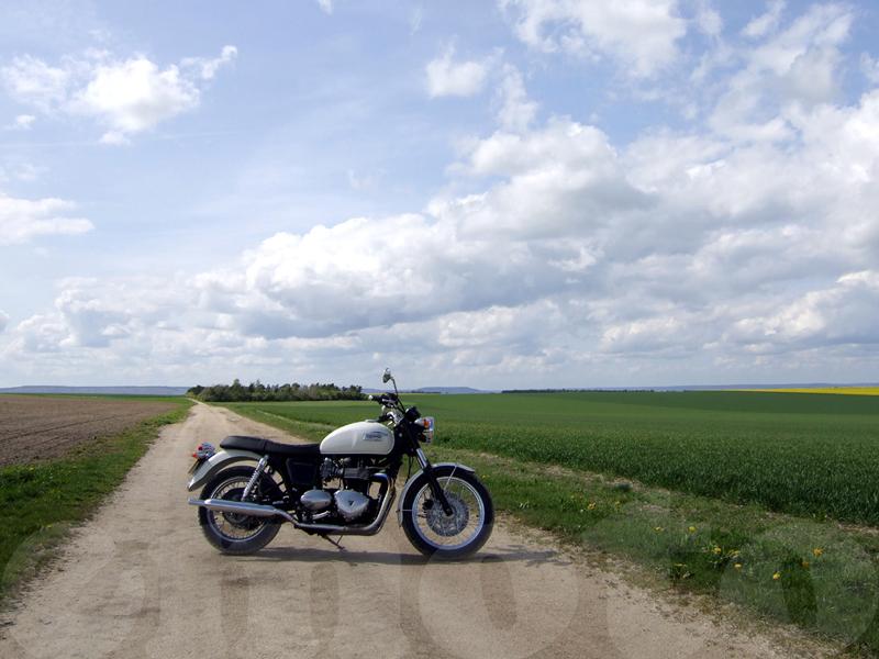 Essai Triumph Bonneville 2008 par Jean-Michel Lainé