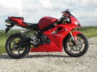 Photo 1 Essai Triumph Daytona 675 2006