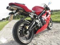 Photo 15 Essai Triumph Daytona 675 2006
