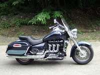Photo 19 Essai Triumph Rocket III Touring modèle 2008