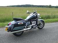 Photo 28 Essai Triumph Rocket III Touring modèle 2008