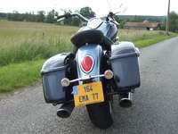 Photo 31 Essai Triumph Rocket III Touring modèle 2008