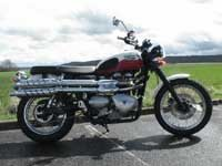 Photo 1 Essai Triumph Scrambler 2006