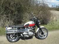 Photo 16 Essai Triumph Scrambler 2006