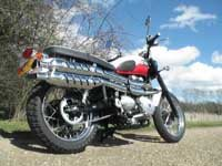 Photo 17 Essai Triumph Scrambler 2006