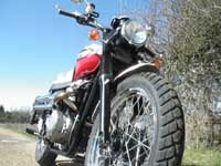 Photo 18 Essai Triumph Scrambler 2006