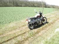 Photo 25 Essai Triumph Scrambler 2006