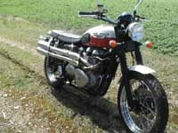 Photo 26 Essai Triumph Scrambler 2006