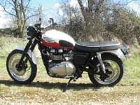 Photo 27 Essai Triumph Scrambler 2006