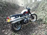 Photo 28 Essai Triumph Scrambler 2006