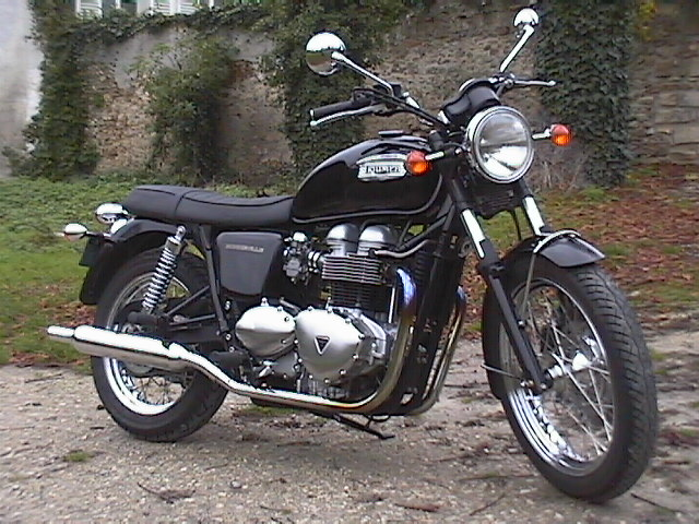 Essai Triumph Bonneville 2005 par Jean-Michel Lainé