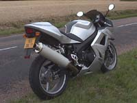 Photo 3 Essai Triumph Daytona 600 2003