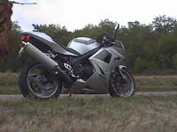 Photo 14 Essai Triumph Daytona 600 2003