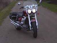 Photo 1 Essai Triumph Rocket III 2005